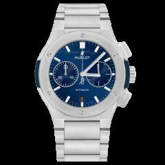 Hublot Classic Fusion Titanium Blue Bracelet 520.NX.7170.NX | Buy Now