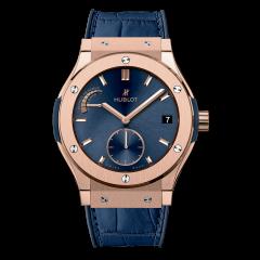 Hublot Classic Fusion King Gold Blue 516.OX.7180.LR | E-Boutique