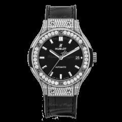 565.NX.1470.LR.1604 | Hublot Classic Fusion Pave Titanium 38 mm watch | Buy Now
