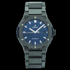 568.CM.7170.CM | Hublot Classic Fusion Ceramic Blue Bracelet 38 mm