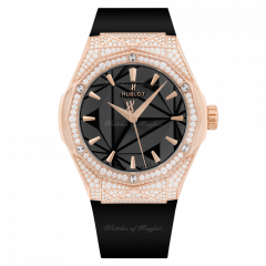 550.OS.1800.RX.1604.ORL19 | Hublot Classic Fusion Orlinski King Gold Pave 40mm watch. Buy Online