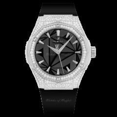 550.NS.1800.RX.1604.ORL19 | Hublot Classic Fusion Orlinski Titanium Pave 40mm watch. Buy Online