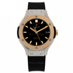 565.NO.1181.RX | Hublot Classic Fusion Titanium King Gold 38 mm watch.