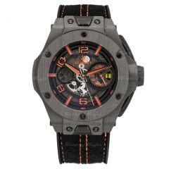 Hublot Big Bang Ferrari Carbon 402.QU.0113.WR     Watches of Mayfair