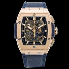 601.OX.7180.LR | Hublot Spirit Of Big Bang King Gold Blue 45 mm watch.