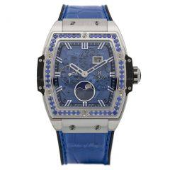 Hublot Spirit of Big Bang Moonphase Titanium Dark Blue 647.NX.5171.LR.1201 | Buy