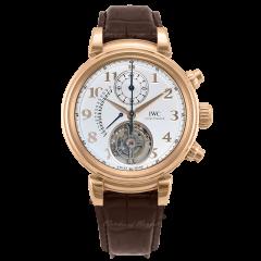 IW393101 | IWC Da Vinci Tourbillon Retrograde Chronograph 44 mm watch.