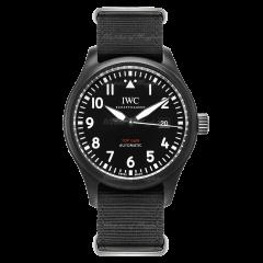 IW326901   IWC Pilot Automatic Top Gun 41mm watch. Buy Online