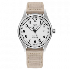 IW327017   IWC Pilot Mark XVIII 40 mm watch. Watches of Mayfair