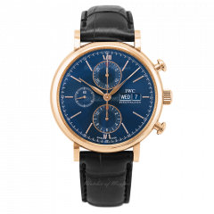 IW391035   IWC Portofino Chronograph 42 mm watch. Buy Online