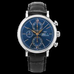 IW391036 | IWC Portofino Chronograph 42 mm watch. Buy Online