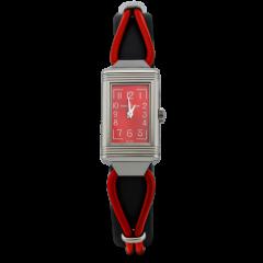 3268560 Jaeger-LeCoultre Reverso One Cordonnet 32.5 x 16.3 mm watch. - Front dial