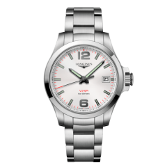 L3.716.4.76.6 | Longines Conquest V.H.P. 41 mm watch | Buy Now