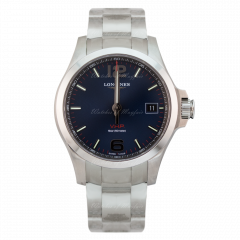L3.716.4.96.6 | Longines Conques V.H.P 41 mm watch. Buy Online.