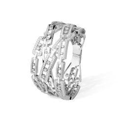 Messika Move Infinity White Gold Diamond Cuff Bracelet 5822