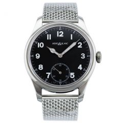 Montblanc 1858 Manual Small Second 112639 New Authentic watch