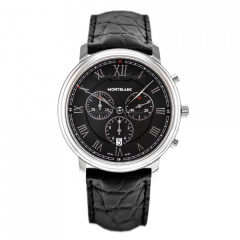 117047   Montblanc Tradition Chronograph 42 mm watch. Buy Now
