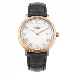 114336 | Montblanc Tradition Date Automatic 40mm watch. Buy Online