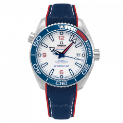 215.32.43.21.04.001 | Omega Seamaster Planet Ocean 600M Co‑Axial Master Chronometer America'S Cup 43.5 mm watch. Buy Online