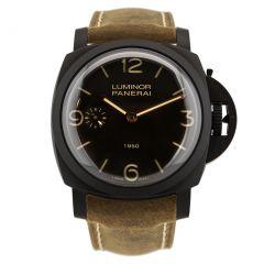 PAM00375   Panerai Luminor 1950 3 Days Composite 47mm watch. Buy Now