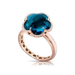 15306R  Buy Online Pasquale Bruni Bon Ton Rose Gold Topaz Diamond Ring
