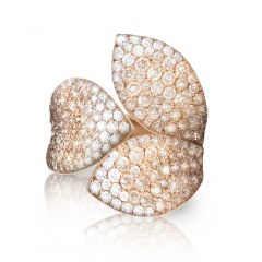 15085R   Buy Pasquale Bruni Giardini Segreti Rose Gold Diamond Ring