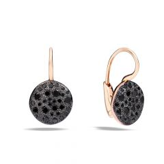 Pomellato Sabbia Rose Gold Diamond Earrings O.B204MO7BB