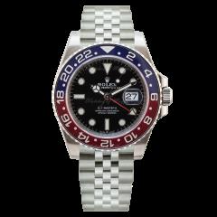 126710BLRO   Rolex GMT-Master II 40 mm watch. Watches of Mayfair