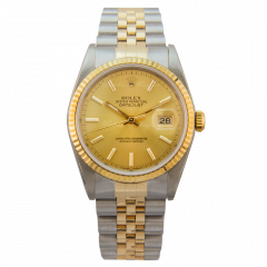 16233   Rolex Datejust 36 mm watch. Watches of Mayfair