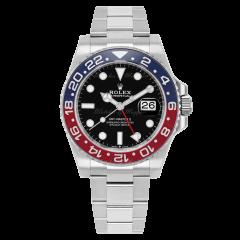 126710BLRO   Rolex GMT-Master II Oystersteel and Oyster Bracelet 40 mm watch. Buy Online