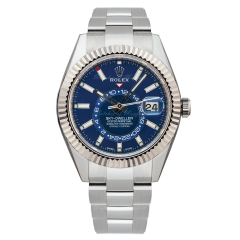 326934 Buy New Rolex Oyster Perpetual Sky-Dweller Blue Dial