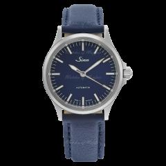 556.0104   Sinn 556 I B Instrument Sporty Elegant Blue Dial Leather 38.5mm watch. Buy Online