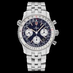 903.045 X75   Sinn 903 St B E Instrument Chronographs Navigation Dark Blue Dial Steel Bracelet 41mm watch. Buy Online