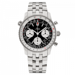903.040   Sinn 903 St Instrument Chronographs Navigator Black Dial Bracelet 41mm watch. Buy Online