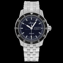 104.013   Sinn 104 St Sa I B Classic Pilot  Dark Blue Dial Bracelet  41mm watch. Buy Online