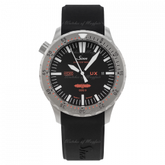 403.031   Sinn UX GSG 9 (EZM 2B) Diving Black Dial Silicone 44 mm watch. Buy Online