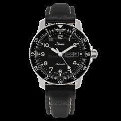 104.011   Sinn 104 St Sa A Instrument Classic Pilot Black Dial Leather 41mm watch. Buy Online