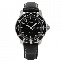 104.010   Sinn 104 St Sa I Instrument Classic Pilot Black Dial Leather 41mm watch. Buy Online