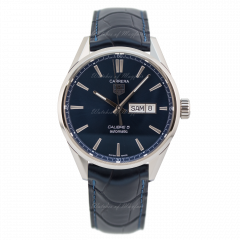 WAR201E.FC6292 | TAG Heuer CarreraCalibre 5 Day-Date 41 mm watch.