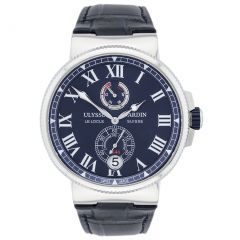 Ulysse Nardin Marine Chronometer 1183-122/43 New Authentic Watch