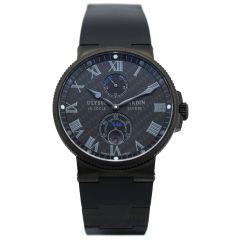 263-66LE-3C/42-BLACK Ulysse Nardin Marine Chronometer 41 mm watch.