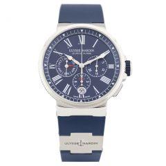 Ulysse Nardin Marine Chronograph Annual Calendar 1533-150-3/43 New Authentic watch