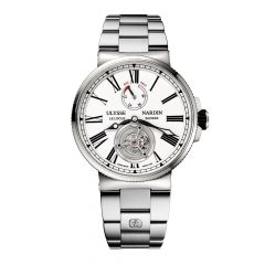 1283-181-7M/E0 Ulysse Nardin Marine Tourbillon 43mm watch