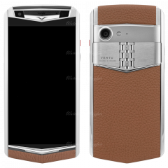 VERTU Aster P Caramel Brown Calf. Buy new authentic VERTU Aster P mobile phone in London, England, UK supplied from Official Retailer