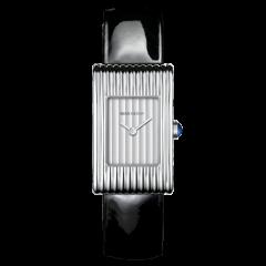 WA030503 | Boucheron Reflet Small Atinless Steel Gadroon Dial Watch