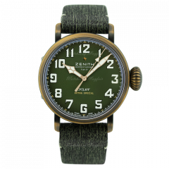 29.2430.679/63.I001 | Zenith Pilot Type 20 Adventure 45mm watch. Buy Online