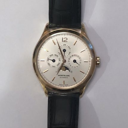 112535 | Montblanc Heritage Chronometrie Quantieme Annuel 40 mm watch. Buy Online