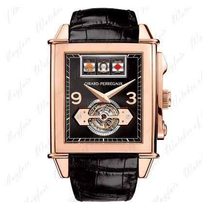 99720-52-651-BA6A Girard-Perregaux Vintage 1945 Jackpot Tourbillon watch.
