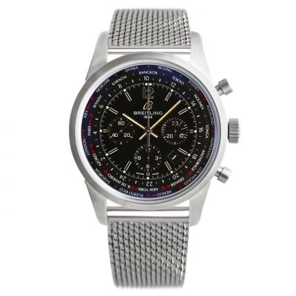 Breitling Transocean Unitime Pilot AB0510U6.BC26.159A | Watches of Mayfair