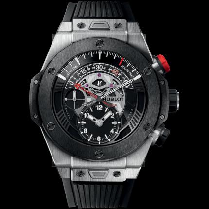 Hublot Big Bang Unico Bi-Retrograde Chrono Titanium Ceramic 413.NM.1127.RX (Watches)